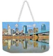 Cincinnati Reflects Weekender Tote Bag