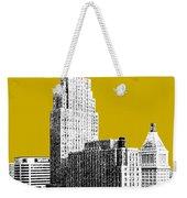 Cincinnati Skyline 2 - Gold Weekender Tote Bag