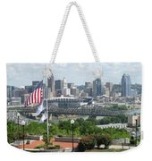 Cincinnati Skyline Weekender Tote Bag