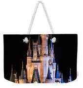 Cinderella's Castle In Magic Kingdom Weekender Tote Bag