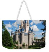 Cinderellas  Castle Weekender Tote Bag