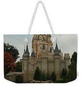 Cinderella's Castle Reflected Weekender Tote Bag