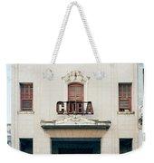 Cinema Cuba Weekender Tote Bag