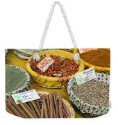 Cinnamon And Spice Weekender Tote Bag