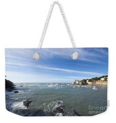 Cinque Terre And The Sea Weekender Tote Bag