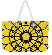 Circle 2 Icon Weekender Tote Bag by Thisisnotme
