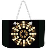 Circle In A Square Weekender Tote Bag by Rona Black