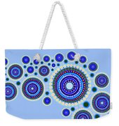 Circle Motif 117 Weekender Tote Bag