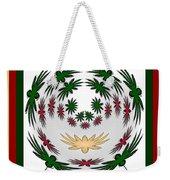 Circle Of Flowers 2 Weekender Tote Bag