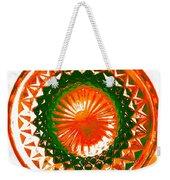 Circle Orange Weekender Tote Bag