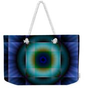 Circle Square Weekender Tote Bag