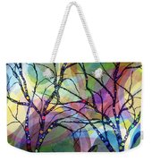 Circle Trees Weekender Tote Bag