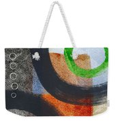 Circles 2 Weekender Tote Bag by Linda Woods