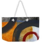 Circles 3 Weekender Tote Bag by Linda Woods