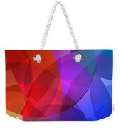 Circles In Colorful Abstract Weekender Tote Bag