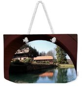 Circular Arc View Weekender Tote Bag