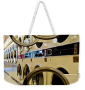 Circular Doors On Laundromat Washing Machines Weekender Tote Bag
