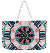 Circular Patchwork Art Weekender Tote Bag
