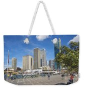 Circular Quay In Central Sydney Australia Weekender Tote Bag