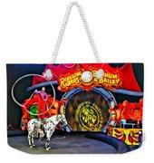Circus Act Weekender Tote Bag