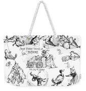 Circus Animals, 1888 Weekender Tote Bag