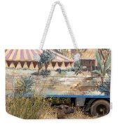 circus circus 2 - A vintage circus wagon with african paint and llama camel  Weekender Tote Bag