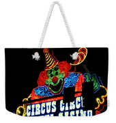 Circus Circus Sign Vegas Weekender Tote Bag