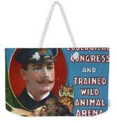 Circus Program, C1901 Weekender Tote Bag