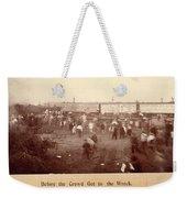 Circus Train Wreck, 1896 Weekender Tote Bag