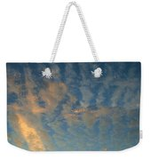 Cirrocumulus Morning Weekender Tote Bag