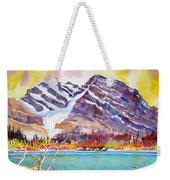 Cirrus Mountain Weekender Tote Bag