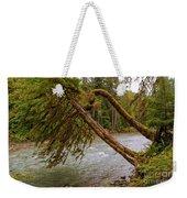 Cispus River At Iron Creek - Washington State Weekender Tote Bag