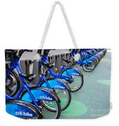 Citibike Rentals Nyc Weekender Tote Bag