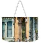 Cities - Albany Ny Brownstone Weekender Tote Bag