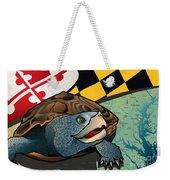 Citizen Terrapin Maryland's Turtle Weekender Tote Bag