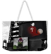 Citizens Bank Park Philadelphia Weekender Tote Bag by Bill Cannon