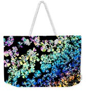 Citric Acid Microcrystal Colorful Abstract Art Weekender Tote Bag