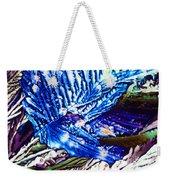 Citric Acid Microcrystals Abstract Color Art Weekender Tote Bag