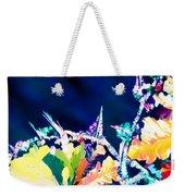 Citric Acid Microcrystals Color Abstract Art Weekender Tote Bag