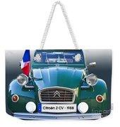 Citroen 2 Cv - France Weekender Tote Bag