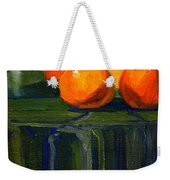 Citrus Chrome Weekender Tote Bag