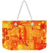 Citrus Circuitry Weekender Tote Bag