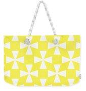 Citrus Twirl Weekender Tote Bag by Linda Woods