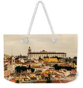 City And Cathedral Lisbon Portugal Weekender Tote Bag
