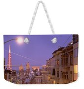 City At Night, San Francisco Weekender Tote Bag