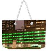 City At Night Urban Abstract Weekender Tote Bag