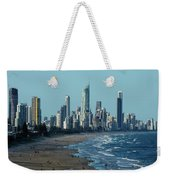 City At The Waterfront, Surfers Weekender Tote Bag