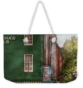City - Baltimore - Fells Point Md - Bertha's And The Greene Turtle  Weekender Tote Bag