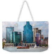 City - Baltimore Md - Harbor East  Weekender Tote Bag