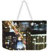 City Blur Weekender Tote Bag